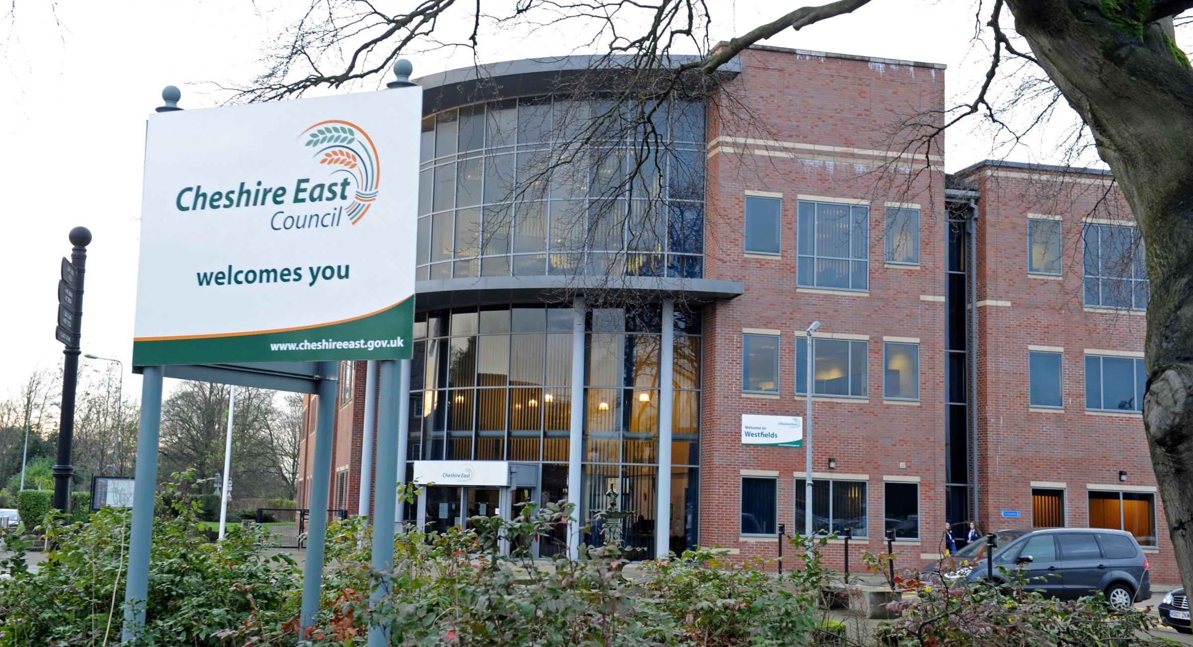 Cheshire East Council offices in Sandbach.