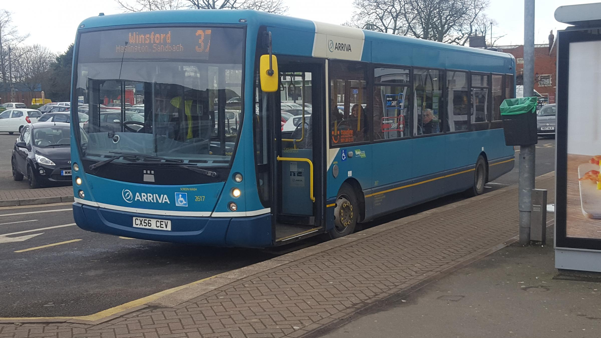 Vital evening Crewe bus services are retained