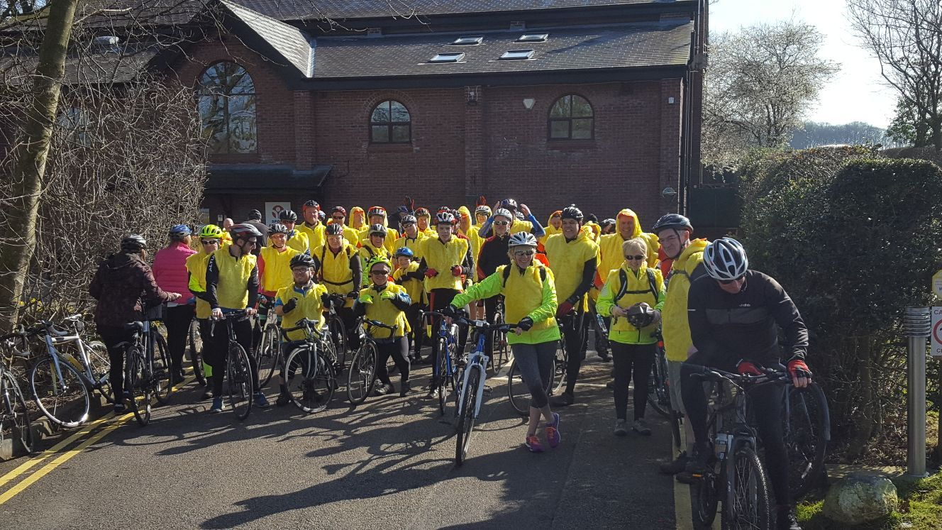 CAFT Frosty Bike Ride thaws to raise funds