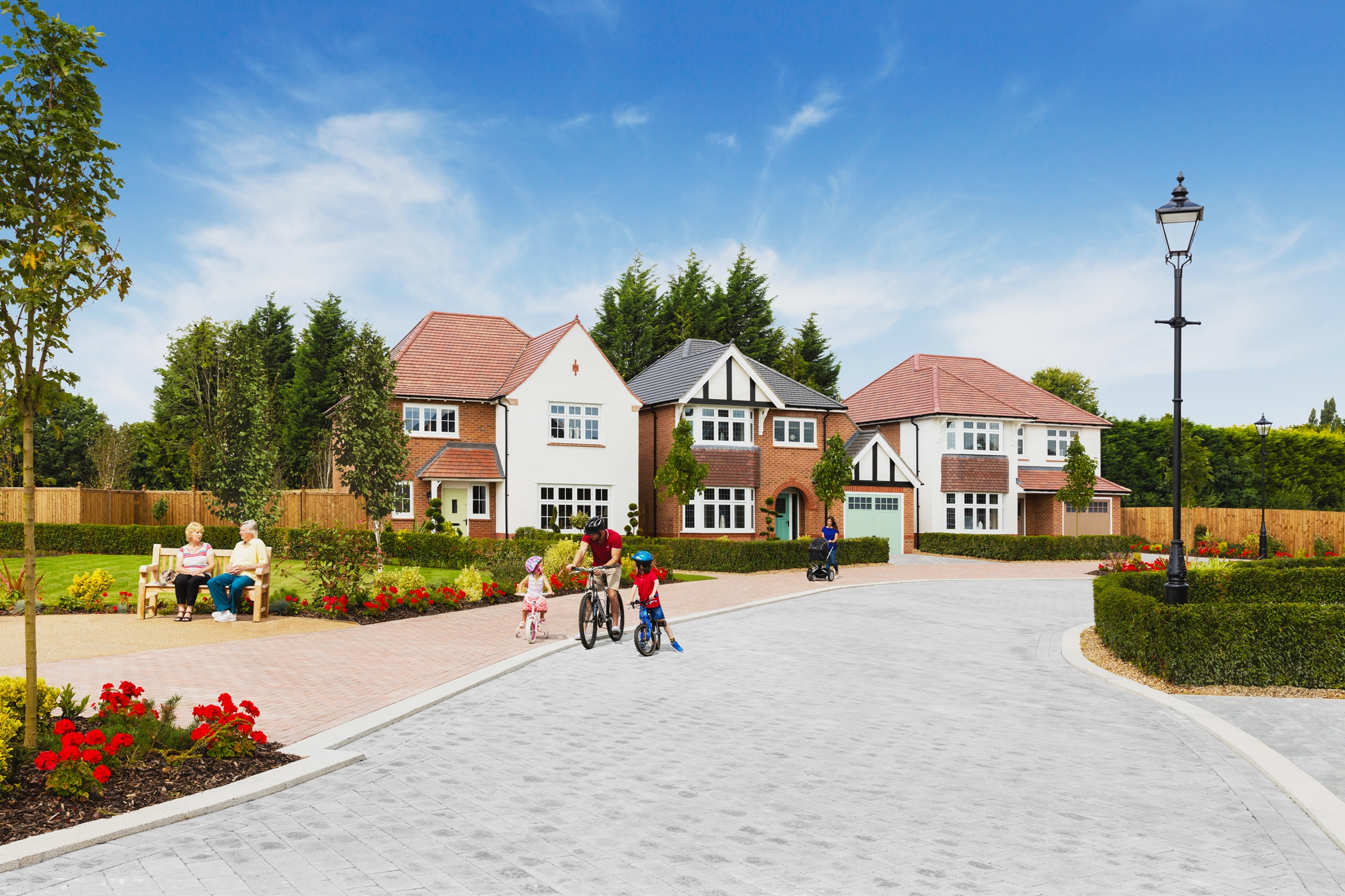 Redrow will be building homes from their popular Heritage Collection in Nantwich