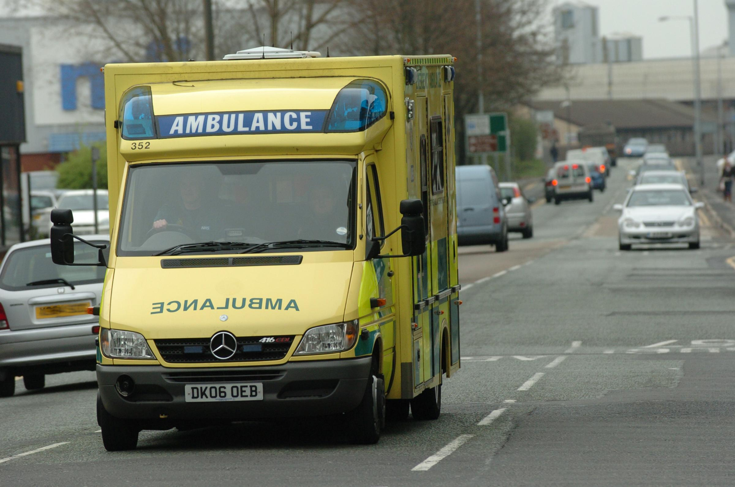 Paramedics may walk out on strike in row over pay