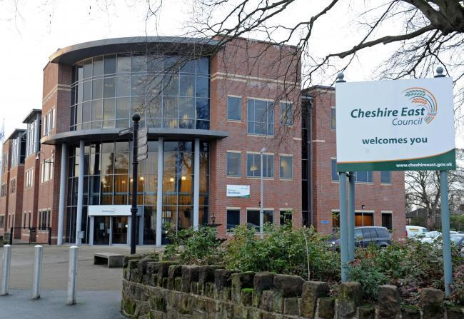 Cheshire East Council offices.