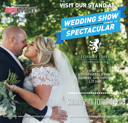 Wedding Show Spectacular at The Formby Hall Golf Resort & Spa, Liverpool