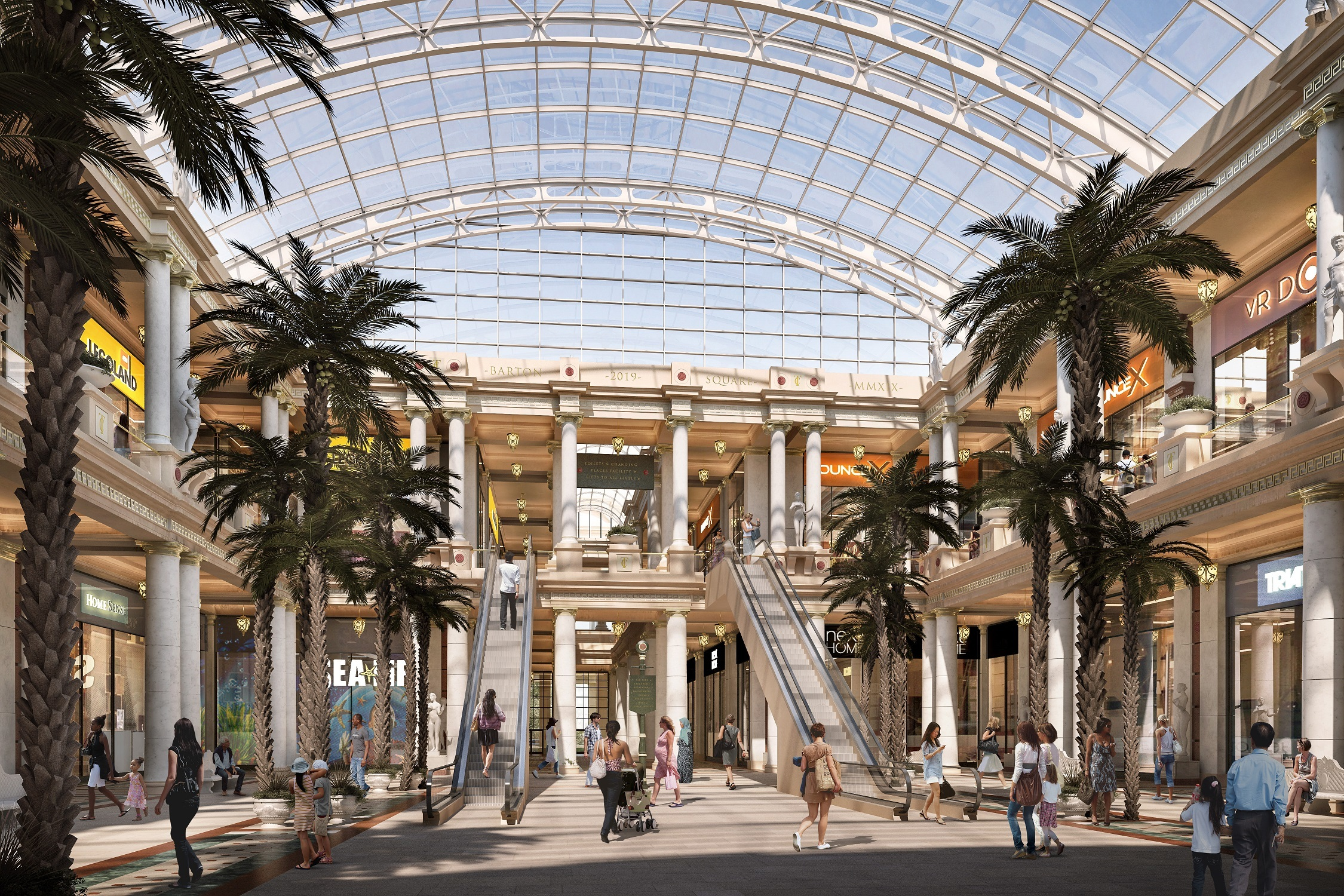 Trafford Centre gets £75million makeover and giant new Primark store