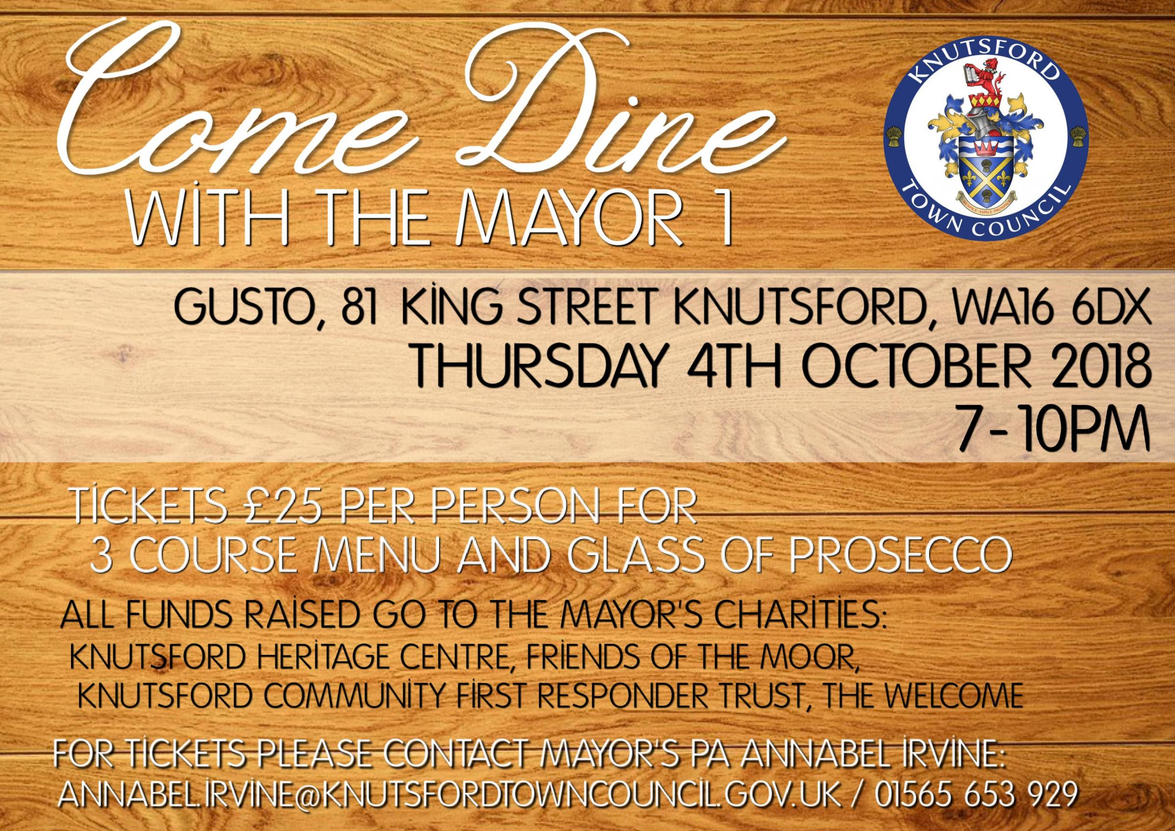 Come Dine with the Mayor 1