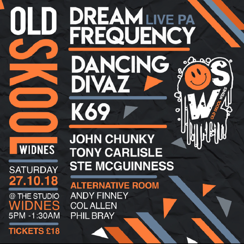 Old Skool Widnes Presents Dream Frequency