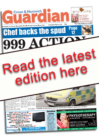 Crewe Guardian: Crewe Guardian E Edition front cover