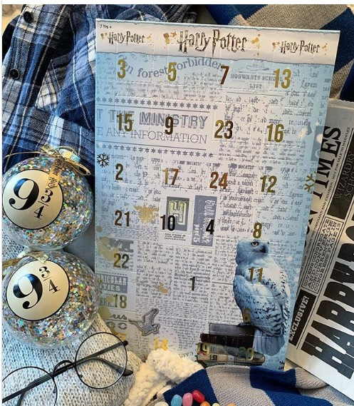 The Harry Potter advent calendar from Asda. Pic credit: thehufflepuffqueen1
