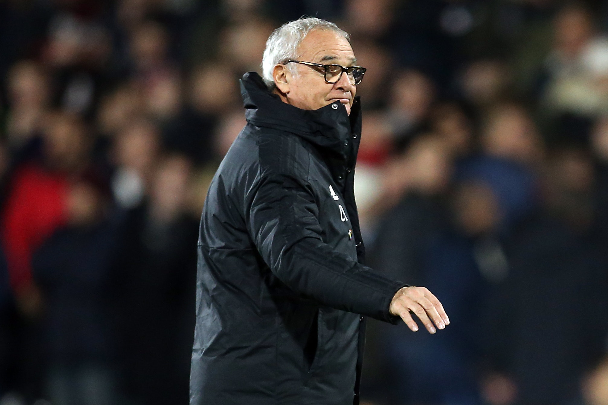 Claudio Ranieri saw Fulham held at home to former club Leicester