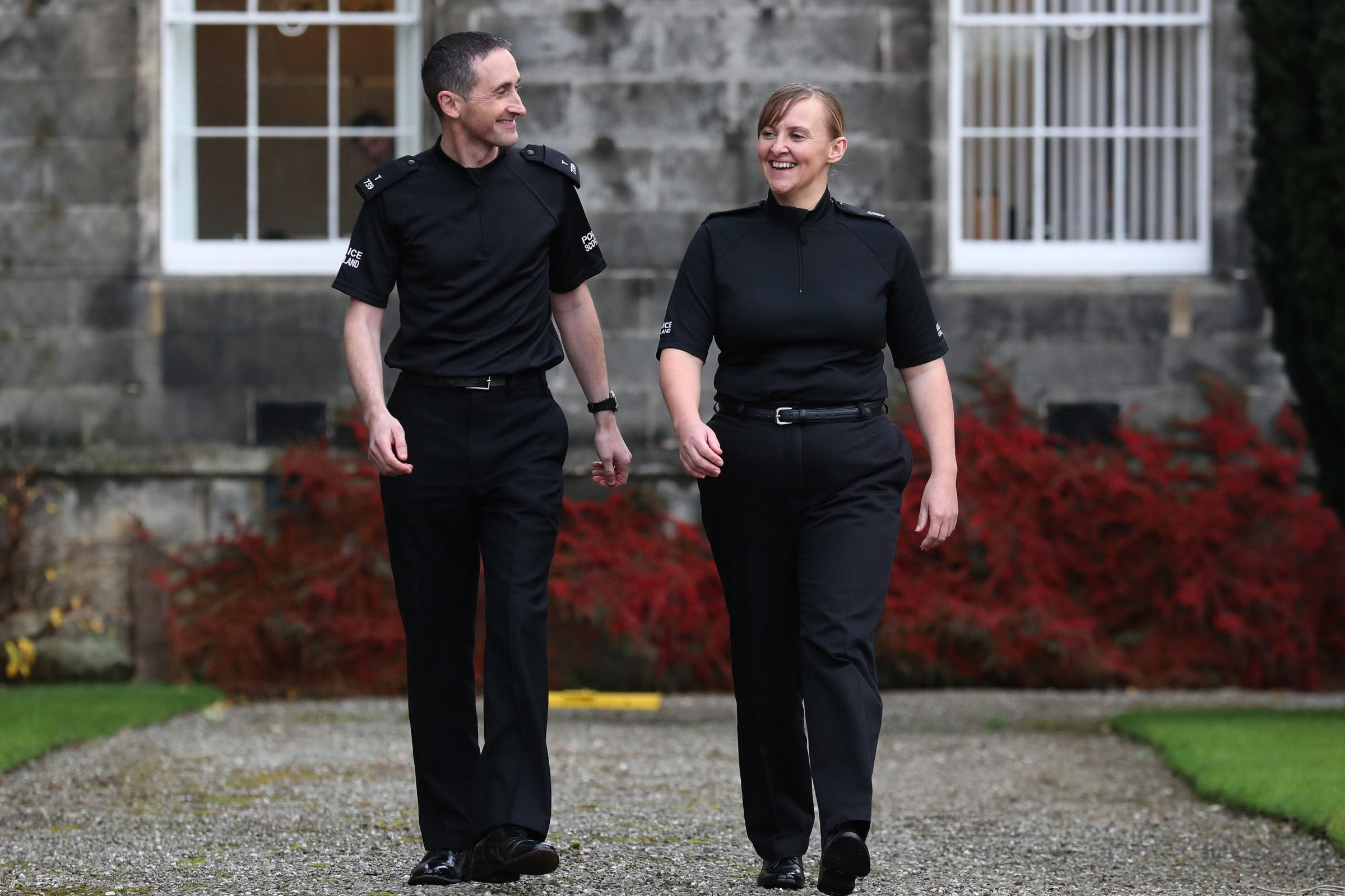 Police constables Laura Sayer and Kenneth MacKenzie