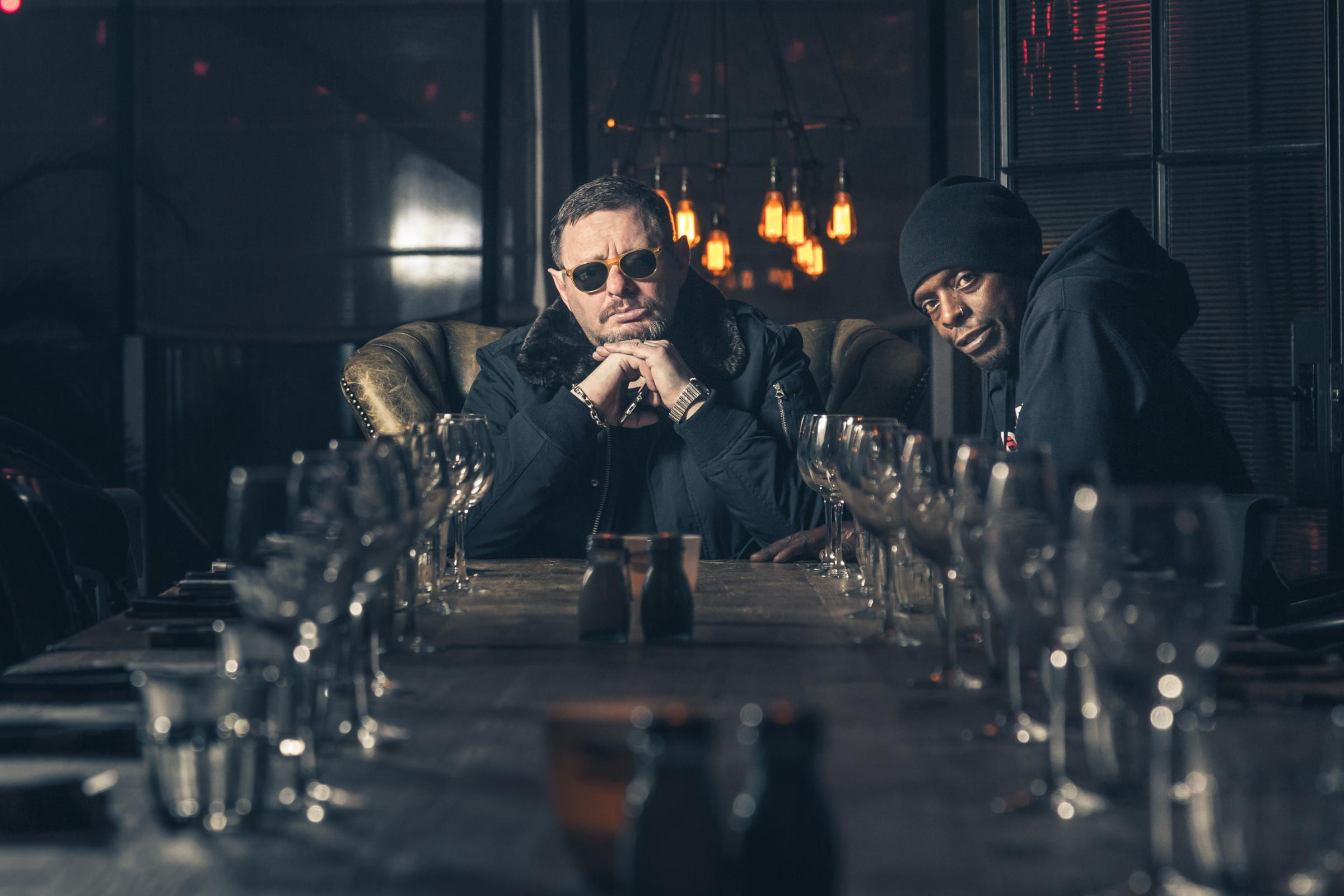 Shaun Ryder and Kermit are Black Grape